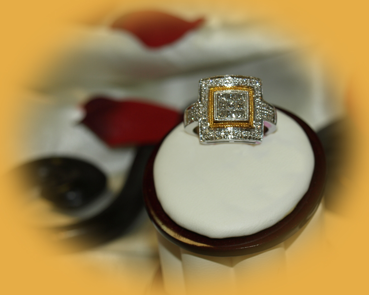 <b>Description: </b>14kt ladies diamond ring - Call for pricing